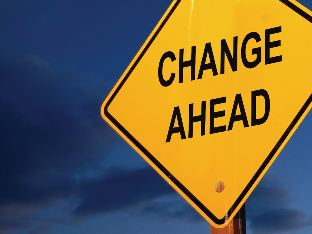 The Opportunity Of Change & Transition